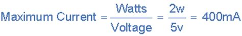 how to calculate maximum current through a resistor zener diodes