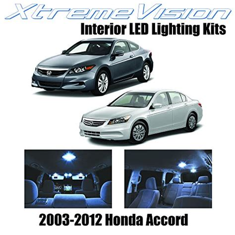 xtremevision honda accord 2003 2012 12 pieces cool white