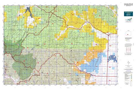 colorado elk unit map colorado gmu 68 map mytopo