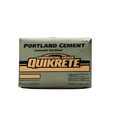 quikrete 47 lb portland cement 112447 the home depot