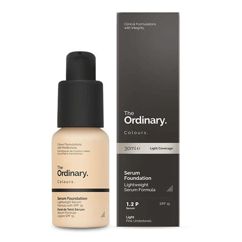 Ordinary Serum Foundation the ordinary colours coverage foundation kaufen