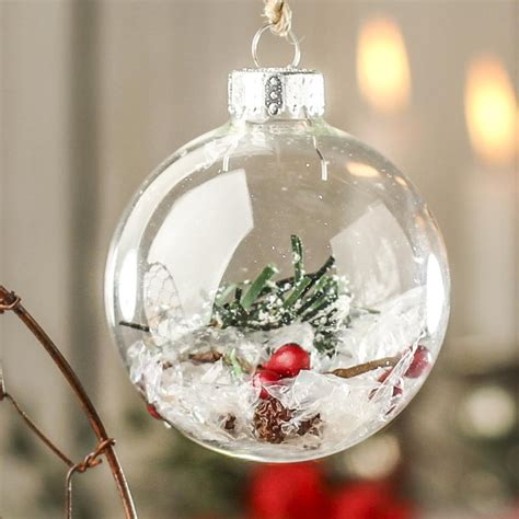 glass ornament crafts clear glass ornaments crafts kits