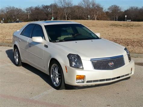 2007 Cadillac Cts Base by Purchase Used 2007 Cadillac Cts Base Sedan 4 Door 3 6l In