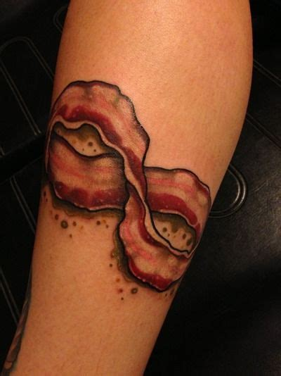 bacon tattoo 25 best ideas about bacon on