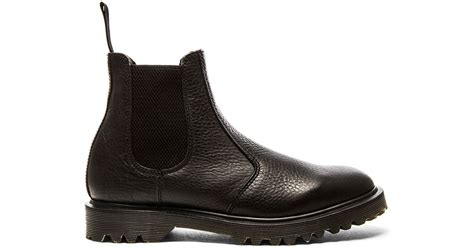 dr martens 2976 chelsea boot in black for lyst