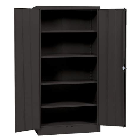 realspace 72 quot steel storage cabinet with 4 adjustable