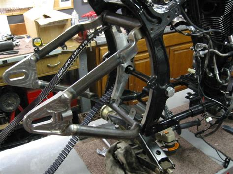 how to make a swing arm jh choppers 1997 fxstc evo chopper project rear hot mockup