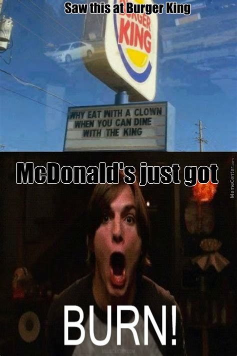 Mcdonald Memes - burger king killed mcdonald s star by nrpyeah meme center