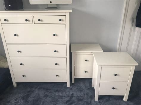 ikea hemnes bedroom set sold subject to collection ikea hemnes bedroom