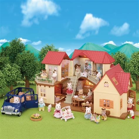 sylvanian families cottage sylvanian families beechwood cosy cottage gift set