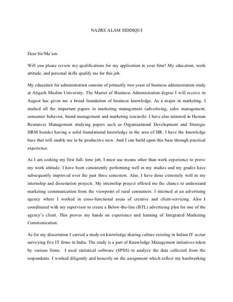 sle cover letter sle cover letter for human rights