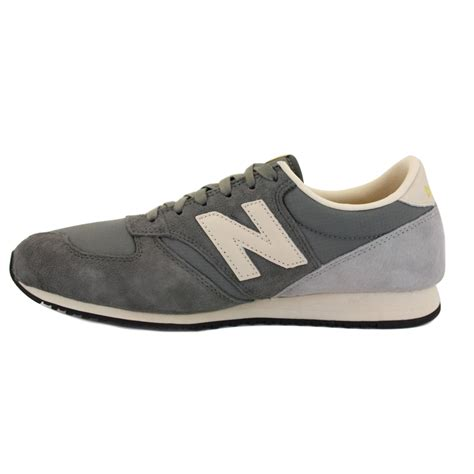 new balance 420 womens suede grey trainers new shoes all sizes ebay