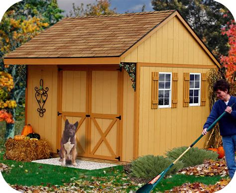 build   wood shed  woodworking