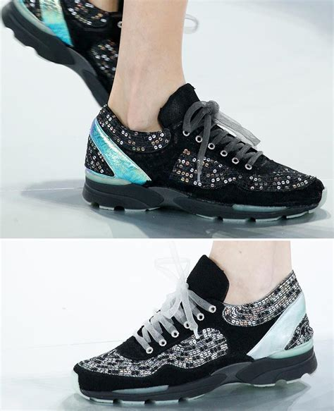 chanel sneakers must haute couture sneakers from chanel and
