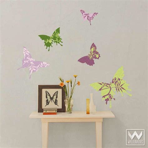 butterfly wall decals for rooms butterfly wall for decorating nursery or removable decals wallternatives