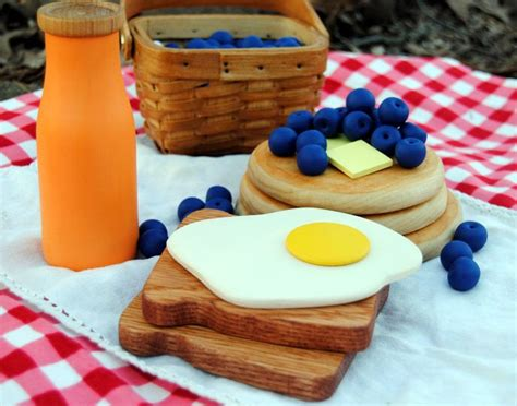 54 best play food wooden images on pinterest play