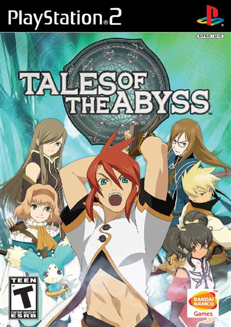 Tales Of The tales of the abyss sony playstation 2