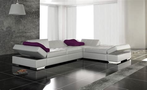 canape design blanc photos canap 233 design cuir blanc