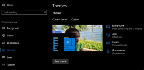create themes for windows 10 how to create and save themes in windows 10