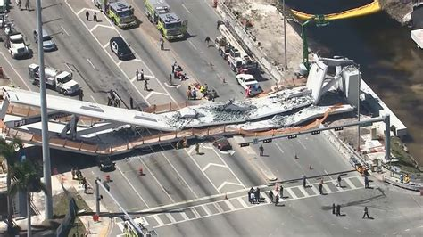 by 2030 over 50 of colleges will collapse future of at least four dead in pedestrian bridge collapse in miami