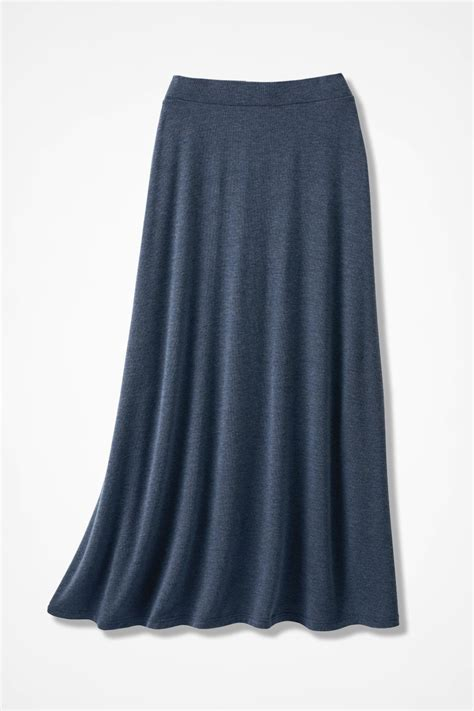 knit skirt sweep n swirl knit maxi skirt coldwater creek