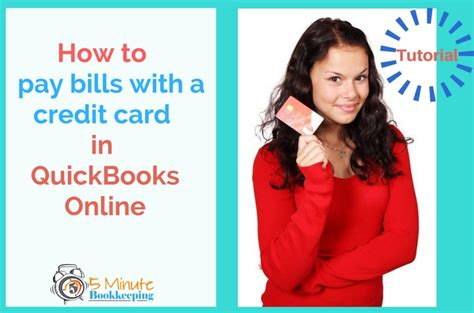 tutorial carding credit card 2015 how to pay bills in quickbooks online with a credit card