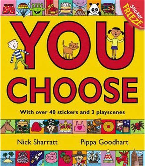 You Choose you choose sticker frieze nick sharratt pippa goodhart 9780552560351