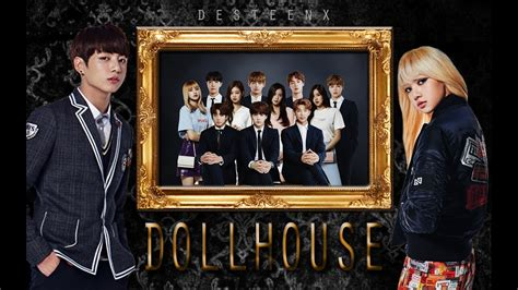 blackpink and bts dollhouse bts and blackpink youtube