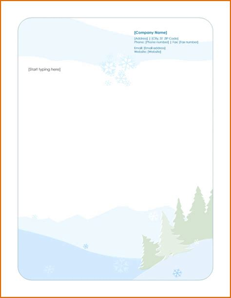 20 Best Of Microsoft Word Letterhead Template Graphics Complete Letter Template Microsoft Word Stationery Templates