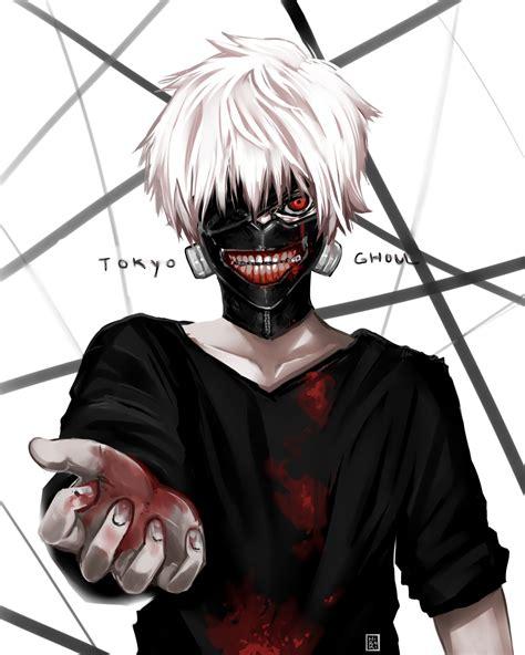 Gantungan Kunci Kaneki Ken Anime Tokyo Ghoul kaneki tokyo ghoul by hirokiart on deviantart