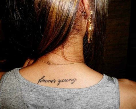 forever young tattoo forever tatty