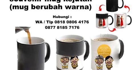 Gelas Ajaib Berubah Warna souvenir mug kejutan mug berubah warna barang promosi