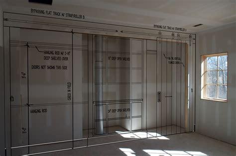 sliding barn doors for closets middleburg house update