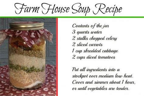 christmas soup in a jar end of the year gift ideas for teachers its a wahm