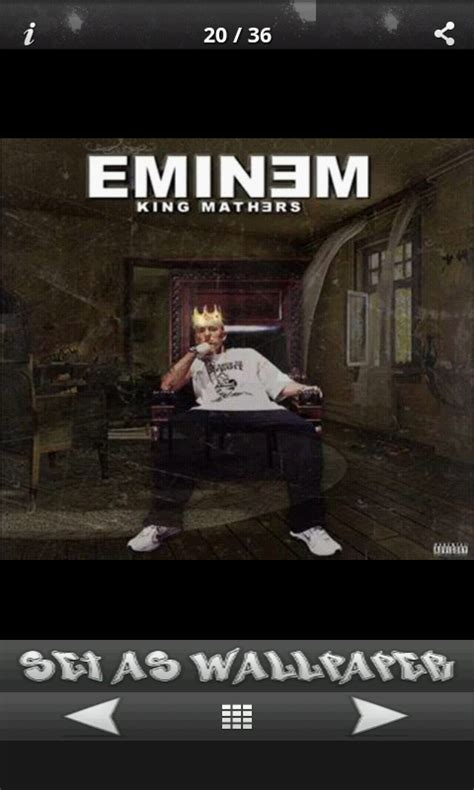 wallpaper eminem android eminem wallpapers free android app android freeware