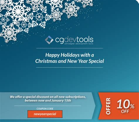new year special centralgest development tools
