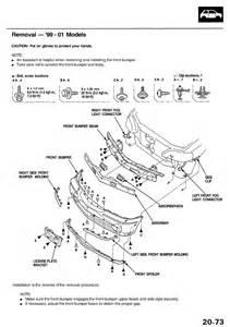 99 Acura Rl Parts 1999 Acura Headlight Rl Do I To Take The Bumper