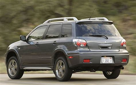 how it works cars 2006 mitsubishi outlander on board diagnostic system used 2006 mitsubishi outlander for sale pricing features edmunds