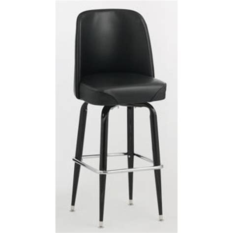 royal industries bar stools royal industries roy 7714 black frame bar stool with