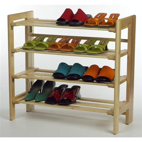 winsome 4 tier shoe rack 151020 housekeeping