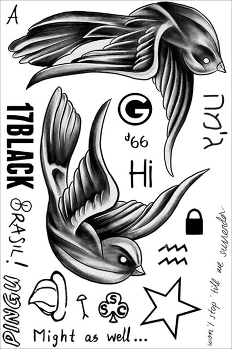harry styles temporary tattoos