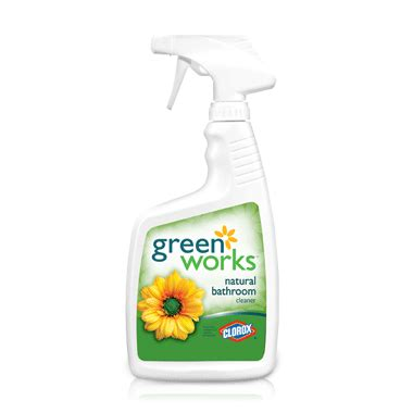 greenworks bathroom cleaner buy green works natural bathroom cleaner at well ca free shipping 35 in canada