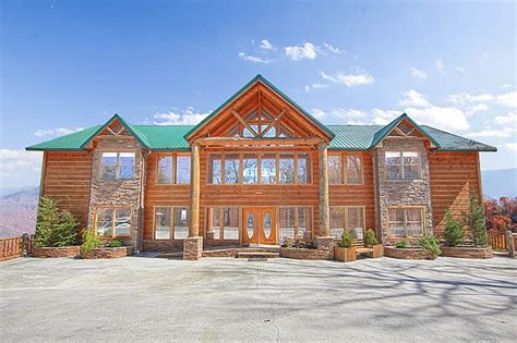 cabin rentals mansion in the sky gatlinburg luxury cabin rentals