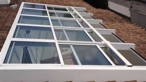 tettoie apribili chiusura copertura apribile motorizzata in alluminio