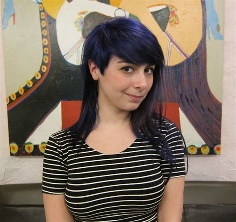 edgy salon haircuts chicago 33 asymmetrical blue hair haircut funky edgy hair salon