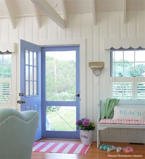 cottage style summer front doors and beaches