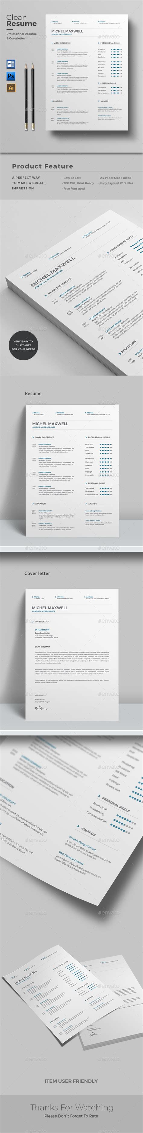 cv word by themedevisers graphicriver