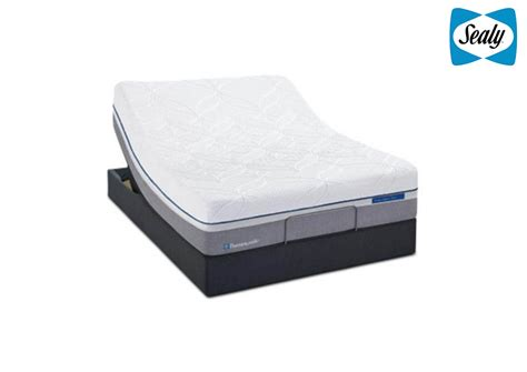 power base bed mattress and more posturepedic reflexion up queen power base