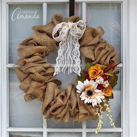 how to make a wreath with burlap burlap wreath how to make a burlap wreath using a coat hanger