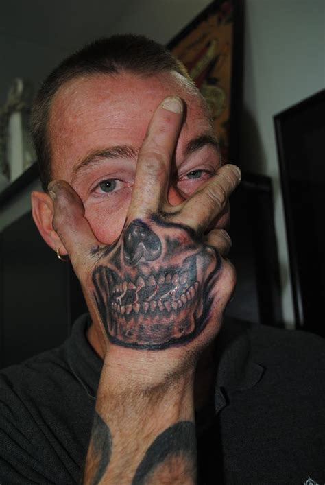 skull tattoo on hand 22 best skull images on skull